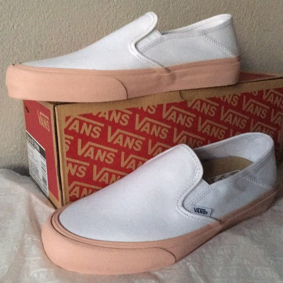 20205a7d72 Vans Slip-On SF Evening Sand White women9